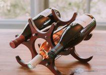 Portabottiglie Vino di Legno
