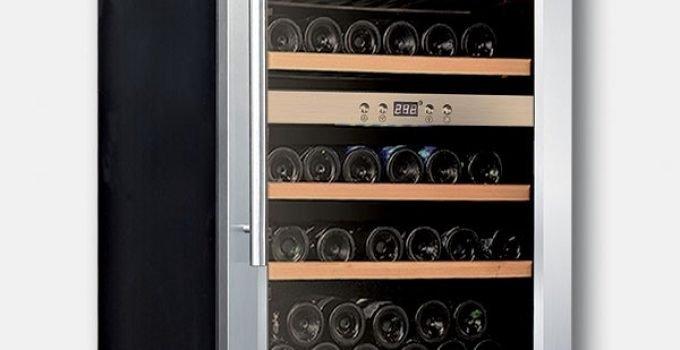 cantinetta per vino a doppia temperatura