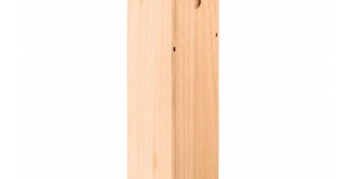 scatola per vino in legno