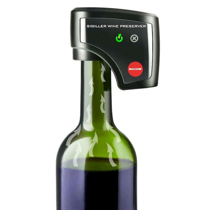 tappo sottovuoto per vino